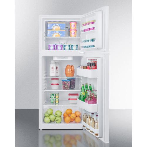 FF1386W Refrigerator Freezer Full