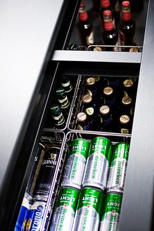 SCFR70BC Freezer Detail