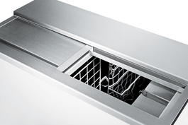 SCFR70BC Freezer Open