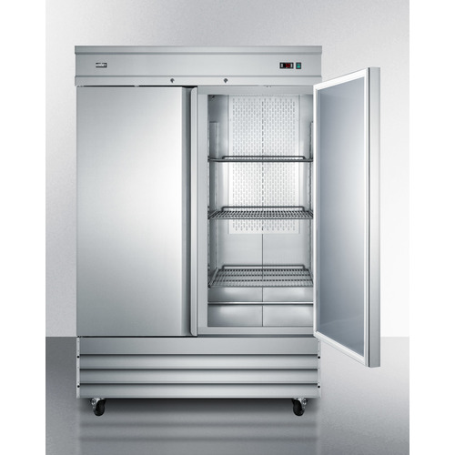 SCFF495 Freezer Open