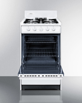WNM110P Gas Range Open