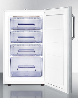 FS407L7CSSADA Freezer Open