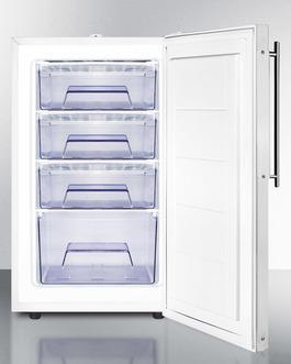 FS407LBI7FRADA Freezer Open
