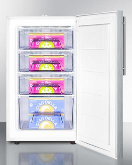 FS407LBI7SSHVADA Freezer Full