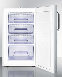 FS407LBI7SSTBADA Freezer Open