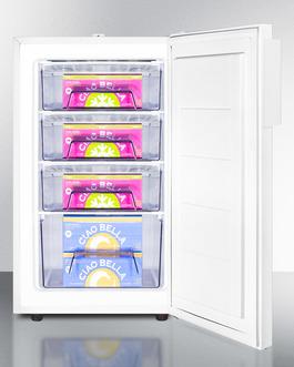 FS407LBIADA Freezer Full