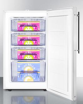 FS407LBIFRADA Freezer Full