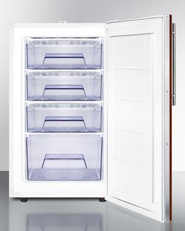 FS407LBIIFADA Freezer Open