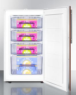 FS407LBIIFADA Freezer Full