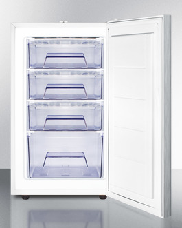 FS407LSSHH Freezer Open