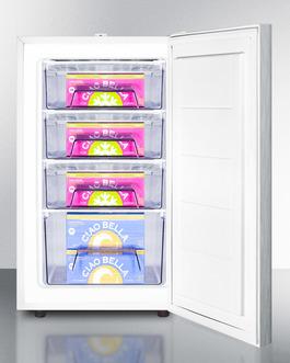FS407LSSHHADA Freezer Full