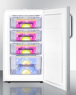 FS407LSSTBADA Freezer Full