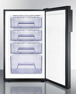 FS408BL7ADA Freezer Open