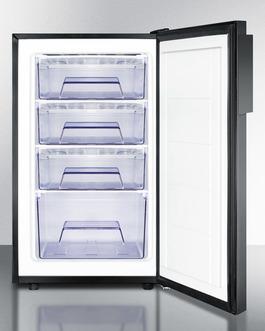 FS408BLBIADA Freezer Open