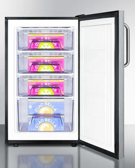 FS408BL7CSSADA Freezer Full