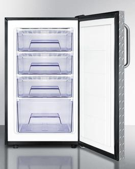 FS408BL7DPLADA Freezer Open