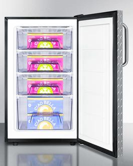 FS408BL7DPLADA Freezer Full