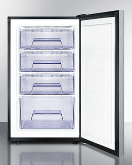 FS408BL7SSHHADA Freezer Open