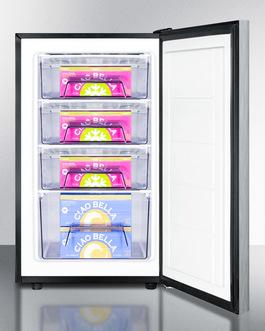 FS408BL7SSHHADA Freezer Full