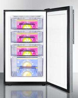 FS408BL7SSHVADA Freezer Full