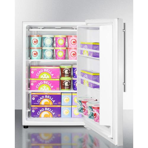FS603SSVH Freezer Full