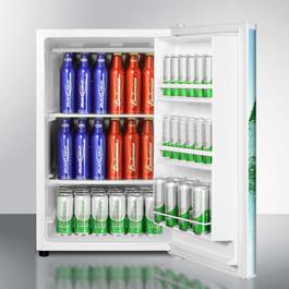 FS603FROST Freezer Open
