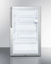 SCR450L7CSS Refrigerator Front