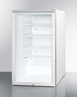 SCR450L7HH Refrigerator Angle