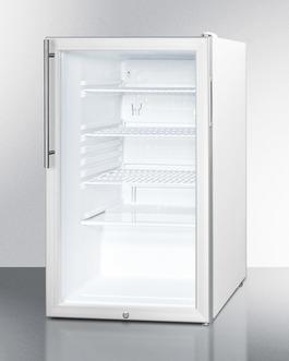 SCR450L7HV Refrigerator Angle