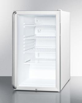 SCR450L7SHADA Refrigerator Angle