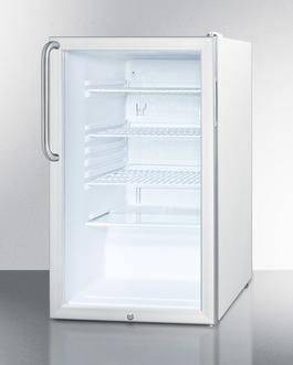 SCR450L7TB Refrigerator Angle