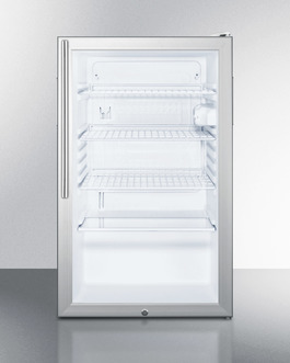 SCR450LBI7HV Refrigerator Front