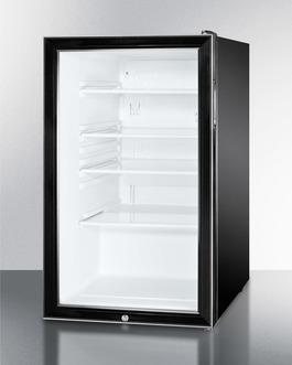 SCR500BL7 Refrigerator Angle