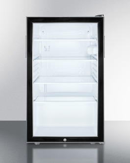 SCR500BL7 Refrigerator Front