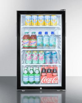 SCR500BL7 Refrigerator Full