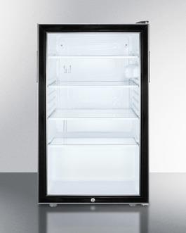 SCR500BLBI7ADA Refrigerator Front