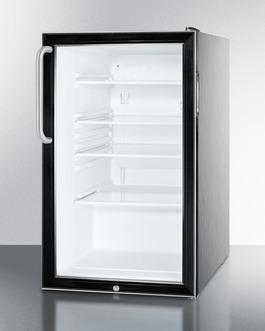 SCR500BL7CSS Refrigerator Angle