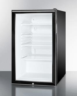 SCR500BL7HH Refrigerator Angle