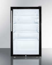 SCR500BL7HV Refrigerator Front