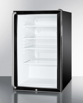 SCR500BL7SH Refrigerator Angle