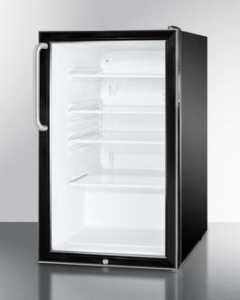 SCR500BLBI7TB Refrigerator Angle