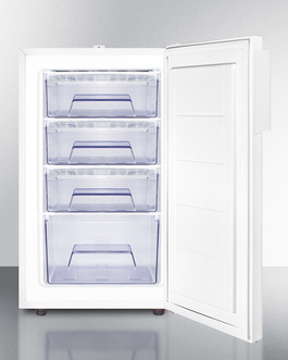 FS407LMED Freezer Open