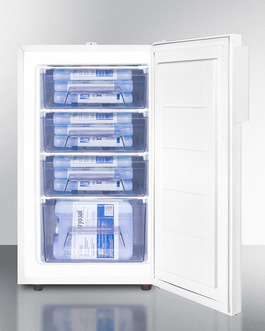 FS407LMED Freezer Full