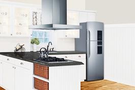 FF1525PL Refrigerator Freezer Set