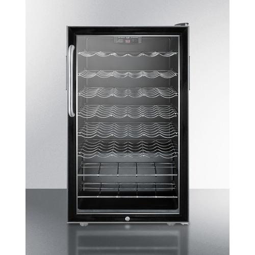 SWC525LCSSADA Wine Cellar Front