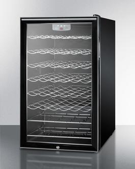 SWC525LBI7HH Wine Cellar Angle