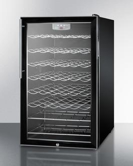 SWC525LBI7HV Wine Cellar Angle