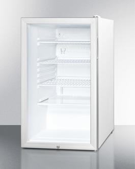 SCR450LBI7 Refrigerator Angle