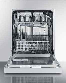 DW2433SSADA Dishwasher Open