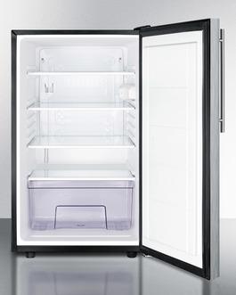 FF521BLSSHV Refrigerator Open